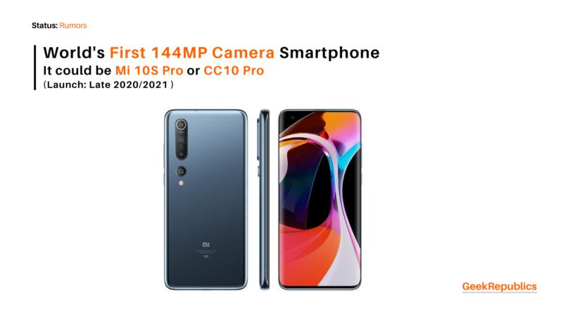 Xiaomi 144MP camera smartphone