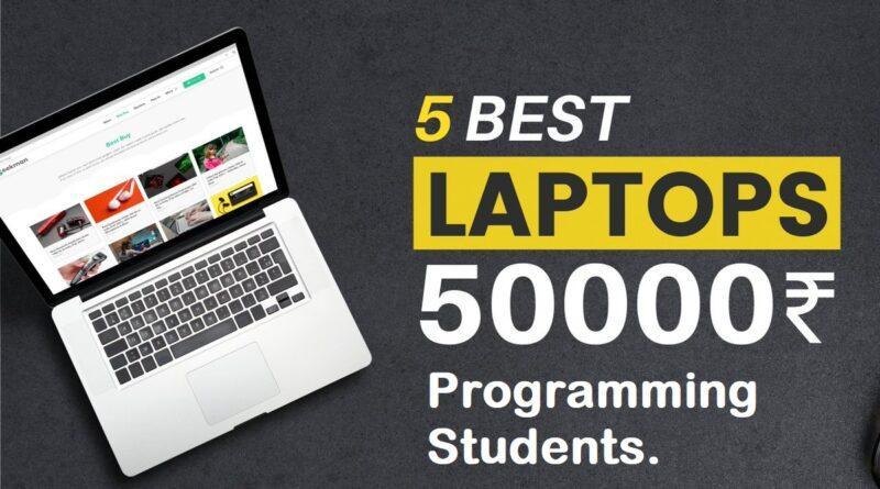 best laptop for programming under 50000
